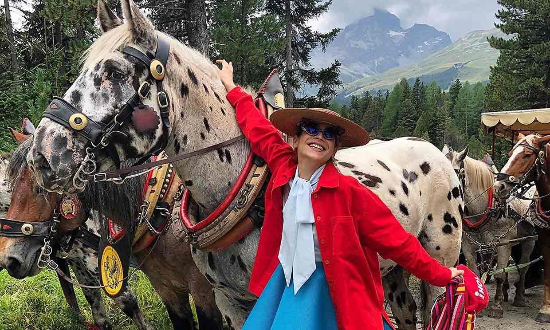 Cósima Ramírez 'agathiza' un boda de la jet set en St. Moritz