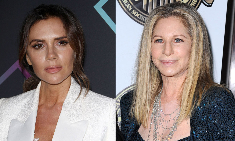 Victoria Beckham imita a Barbra Streisand cantando... ¡y esta le responde!