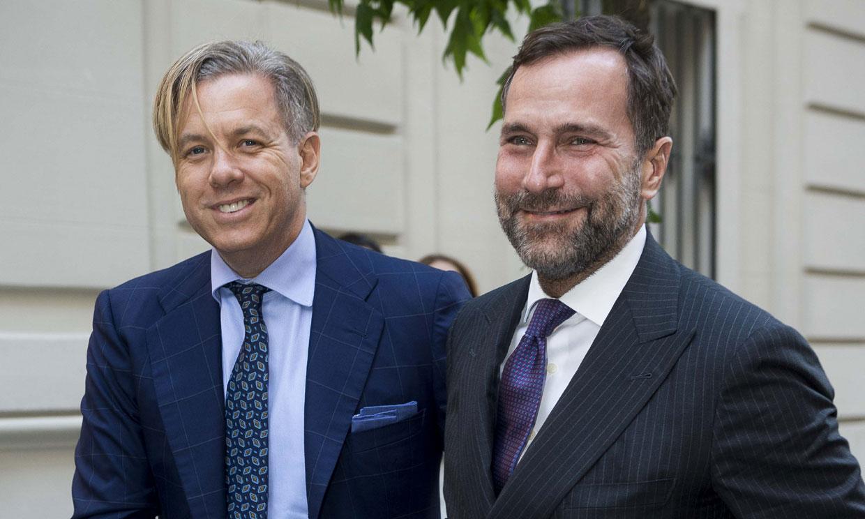 James Costos y Michael Smith reúnen a 'royals', ricos y famosos para homenajear a Matt Tyrnauer, el nuevo niño mimado de Hollywood