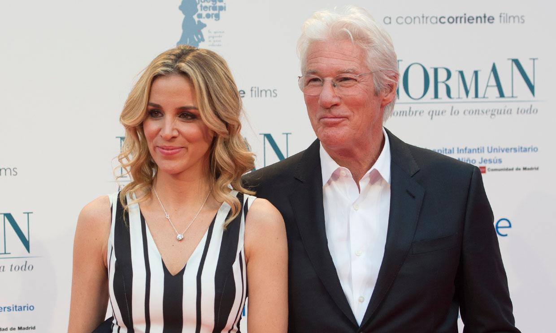 Richard Gere cumple 70 años cada vez más enamorado de Alejandra...¡y de España!