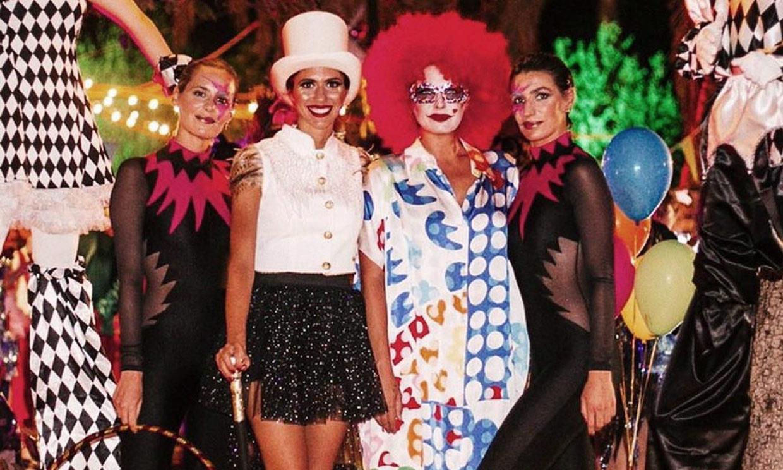 ¿Las reconoces? Las hermanas Osborne terminan el verano con una gran fiesta en el circo