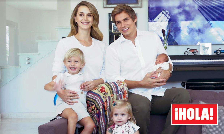 ¡Ya son cómplices! La foto más tierna de las hijas de Carlos Baute y Astrid Klisans