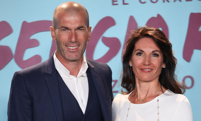 Zidane nos desvela el secreto de su longevo matrimonio con Véronique Fernández