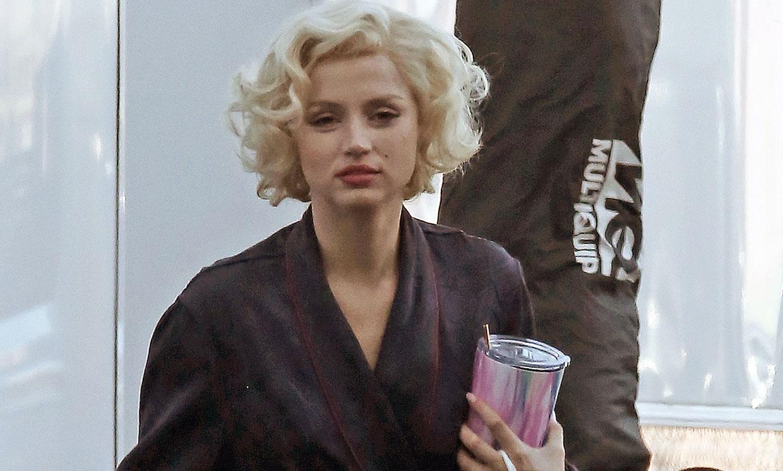 El extraordinario parecido de Ana de Armas con Marilyn Monroe