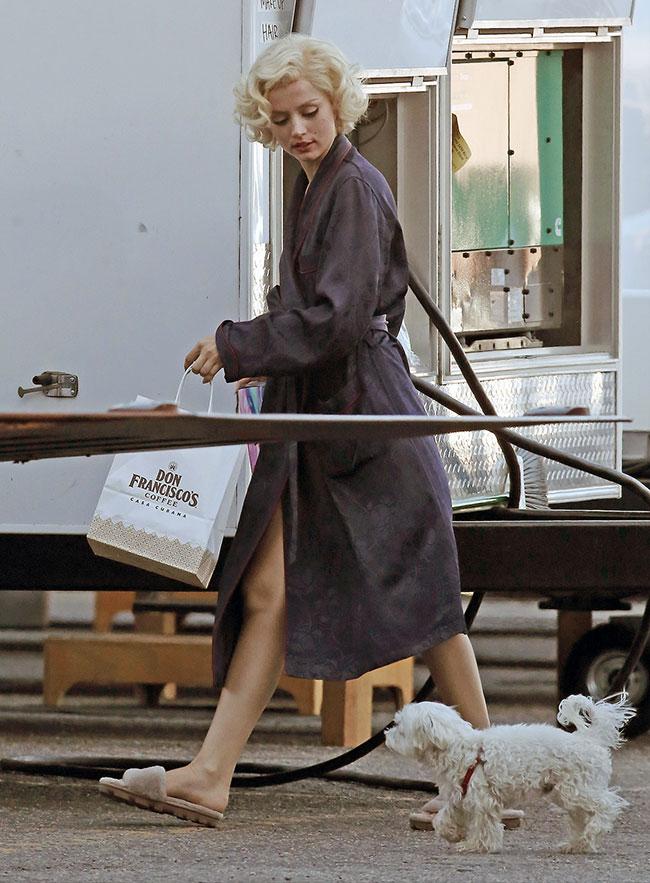 Ana de Armas as Marilyn Monroe