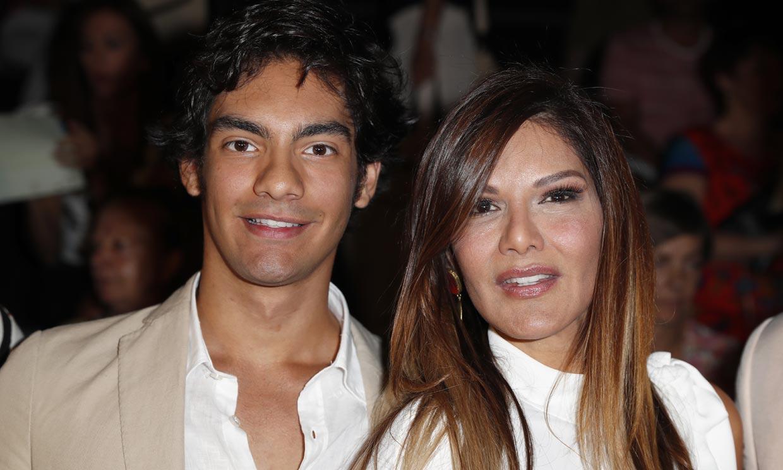 El debut como modelo de Alejandro, hijo de Ivonne Reyes, en Nueva York