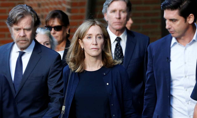 Felicity Huffman condenada a prisión por el caso de los sobornos universitarios