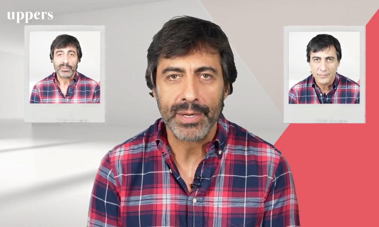 Juan del Val se afeita en directo en su espacio 'Zona Versus' de MTMAD