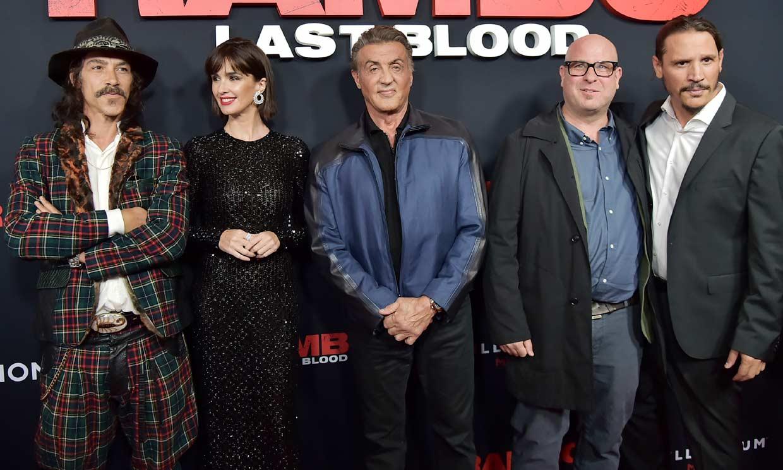 'Rambo' se rodea de españoles en su vuelta a la gran pantalla