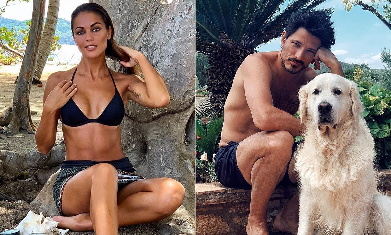 Las 'mariposas' de Andrés Velencoso al ver a Lara Álvarez en bikini