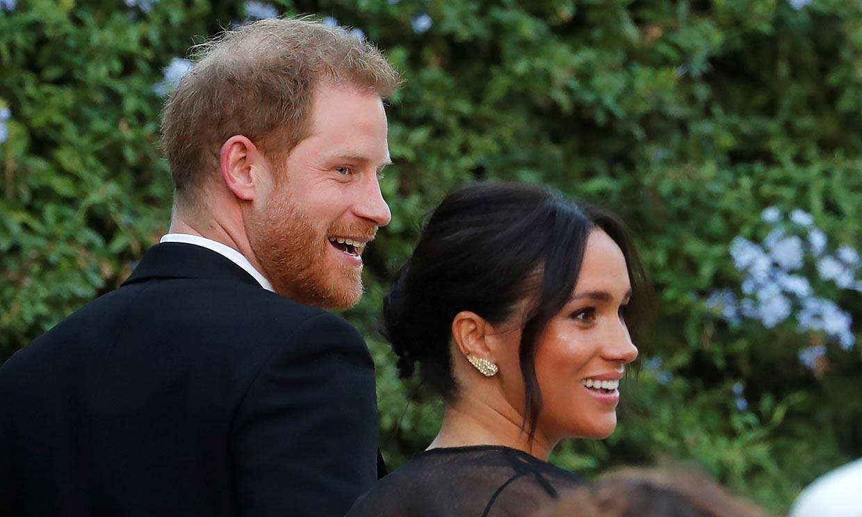 Los duques de Sussex deslumbran en la boda de ensueño de Misha Nonoo y Michael Hess en Roma