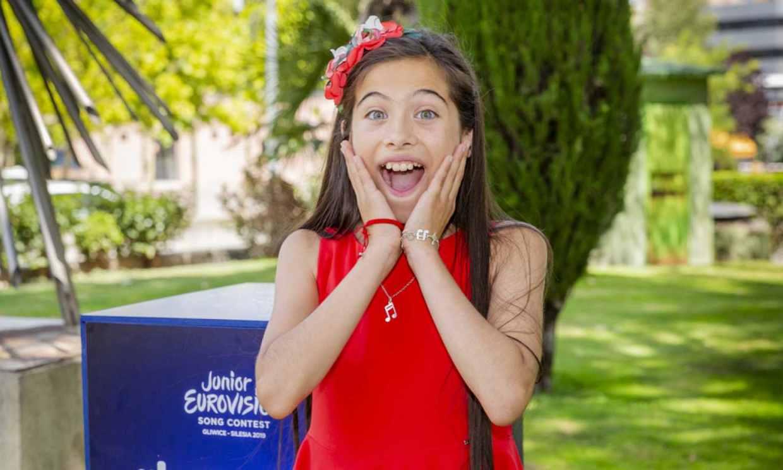 Melani García presenta 'Marte', la canción española para Eurovisión Junior