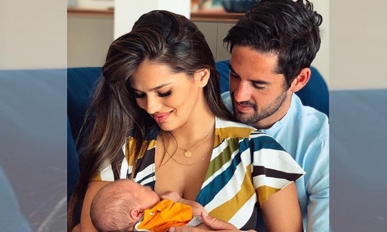 El entrenamiento de Isco Alarcón con Sara Sálamo y su hijo Theo