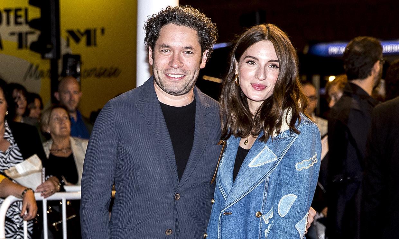 María Valverde y Gustavo Dudamel, inseparables en el Festival de Cine de San Sebastián