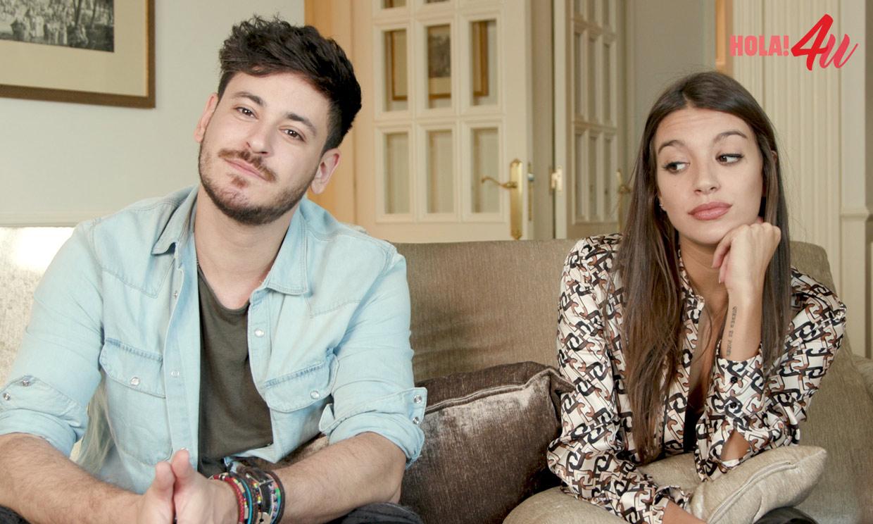 En HOLA!4u, Ana Guerra y Cepeda contestan a las preguntas más buscadas sobre ellos