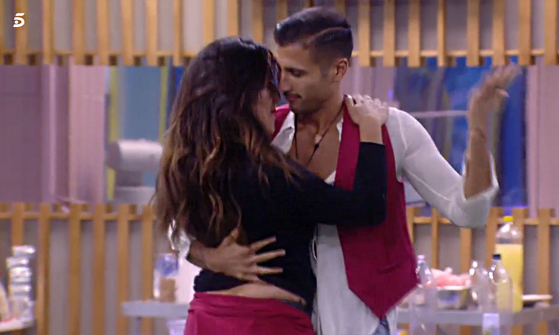 'GH VIP': Irene y Gianmarco se besan mientras Nuria se niega a despedirse de él