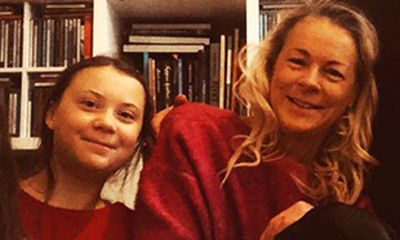 Cantante de ópera, representante de Suecia en Eurovisión... Todo sobre la madre de Greta Thunberg
