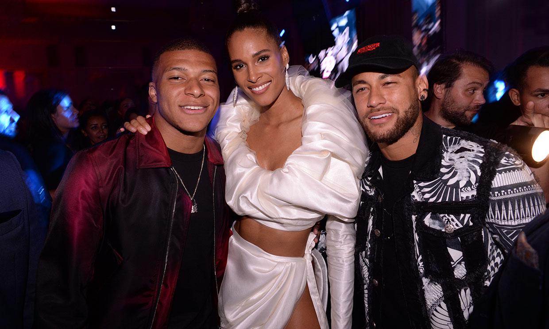 Gad Elmaleh, ex de Carlota Casiraghi, y su fiesta con Neymar en París