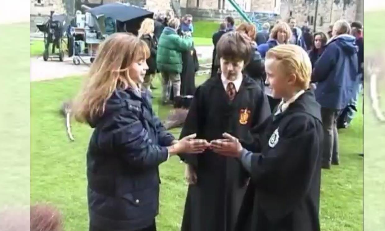 El vídeo que Tom Felton ha rescatado del rodaje de 'Harry Potter' y arrasa en las redes