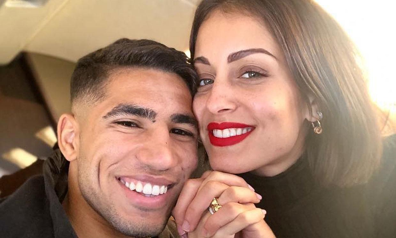 Hiba Abouk y Achraf Hakimi: una historia de amor tan veloz como intensa
