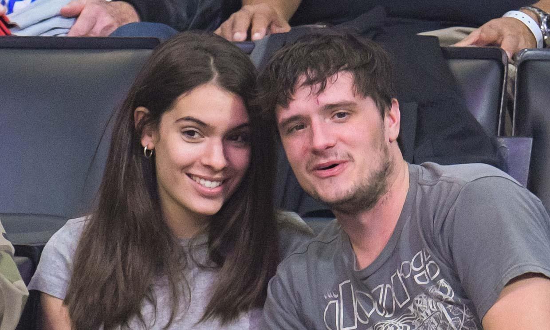 La divertida noche en Madrid de Josh Hutcherson junto a su novia española Claudia Traisac