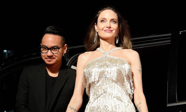 Angelina Jolie y su conmovedor reencuentro con Maddox
