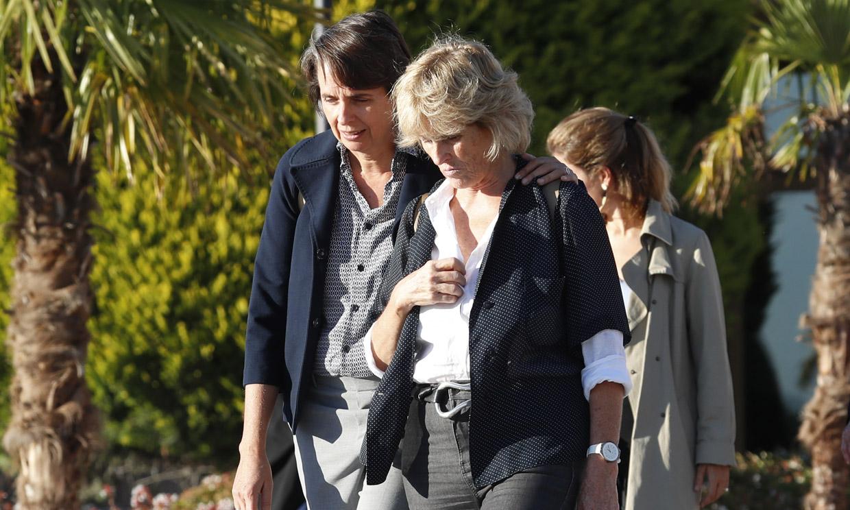 Mercedes Milá, abatida por la muerte de su ex, el productor José Sámano: 'Estoy muy triste'