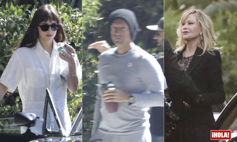 EXCLUSIVA: Dakota Johnson celebra su 30 cumpleaños con Chris Martin y la exmujer del músico, Gwyneth Paltrow
