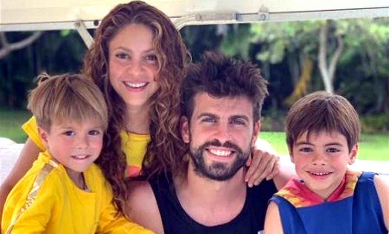 Gerard Piqué muestra cómo ayudan sus hijos a cuidar del planeta