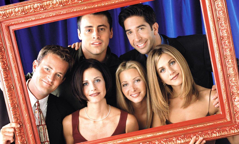 Los fans de 'Friends' y de 'Big Bang Theory', revolucionados por este encuentro