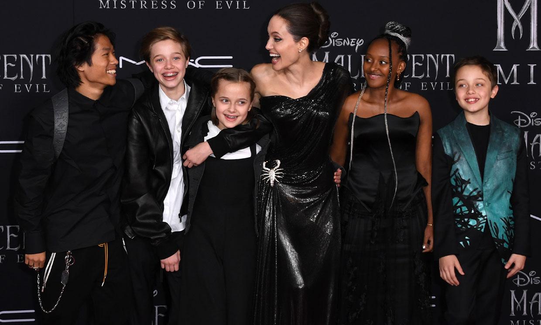 'Luchadora y protectora': Angelina Jolie se define como madre
