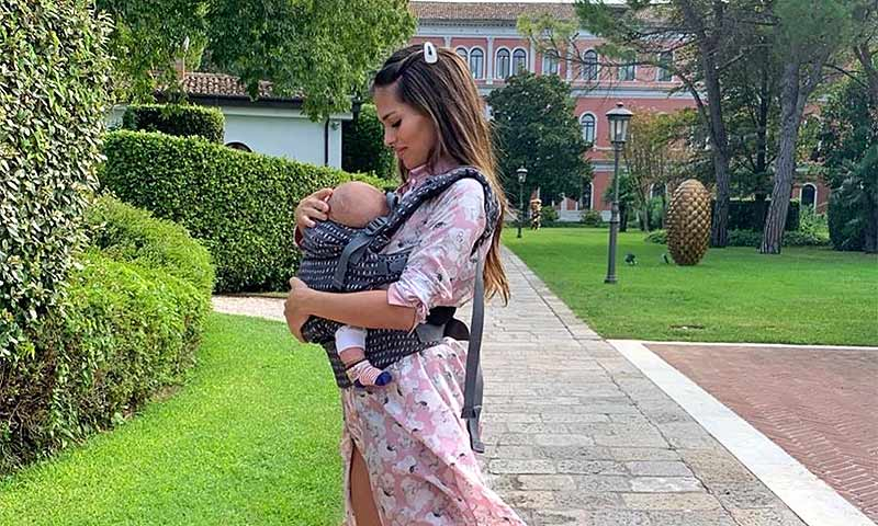 El divertido mensaje de Sara Sálamo cuando el pequeño Theo cumple tres meses