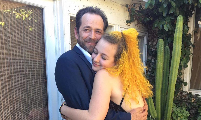 La emotiva y divertida felicitación de cumpleaños de la hija de Luke Perry a su padre