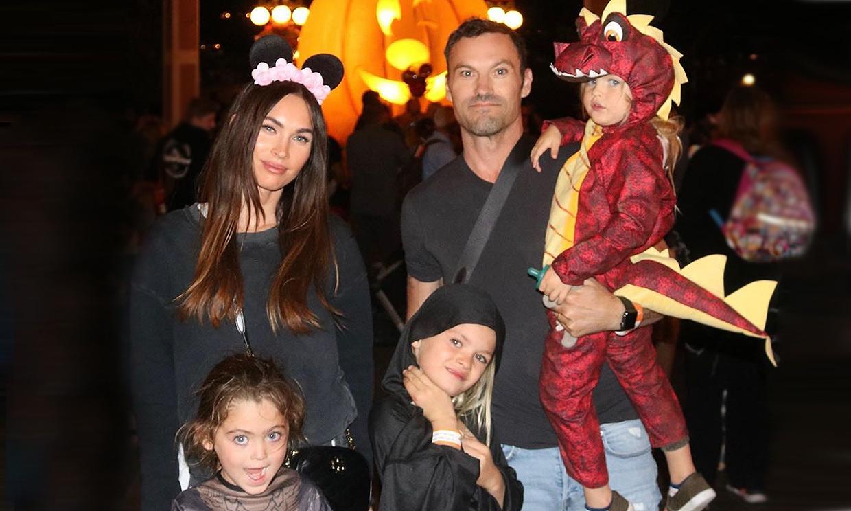 Megan Fox y las dificultades para conseguir que sus fotos de familia salgan perfectas