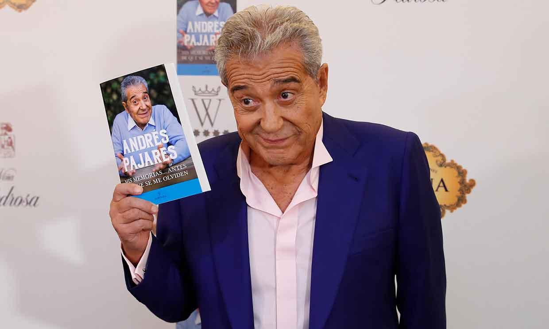 Andrés Pajares presenta su libro de memorias y revela el momento más duro de su vida