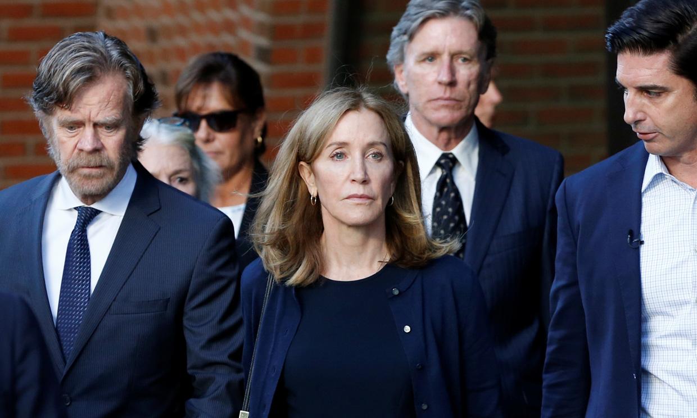 Felicity Huffman entra en la cárcel por su implicación en una red de sobornos universitarios