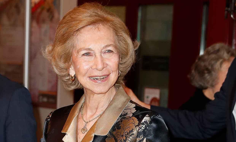 Doña Sofía asiste a un concierto en Madrid antes del gran día de la princesa Leonor en Oviedo