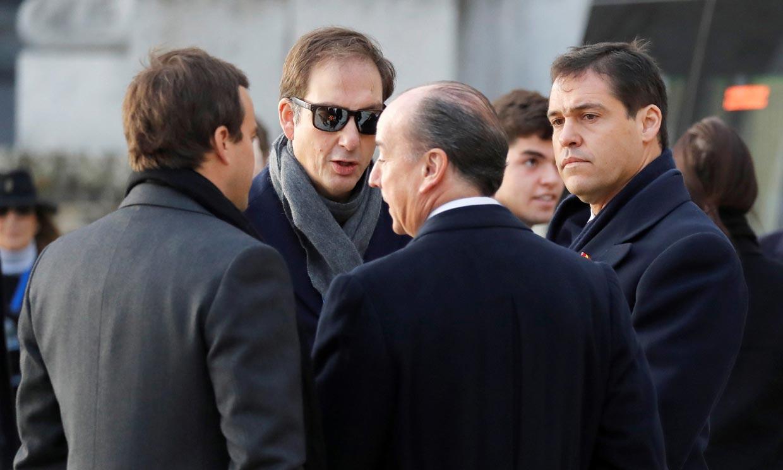 Veintidós miembros de la familia Franco han asistido a la exhumación