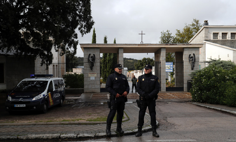 Así es el cementerio de Mingorrubio-El Pardo, donde ha sido reinhumado Franco