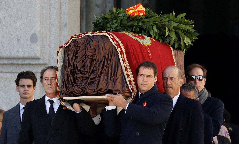 Así ha sido la salida de Franco del Valle de los Caídos