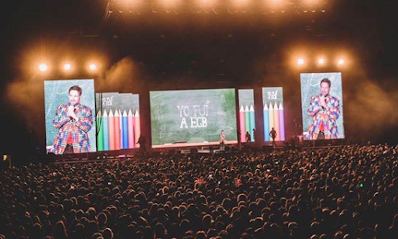 ¡Festival no apto para adolescentes! Llega la gira más nostálgica: 'Yo fui a EGB'