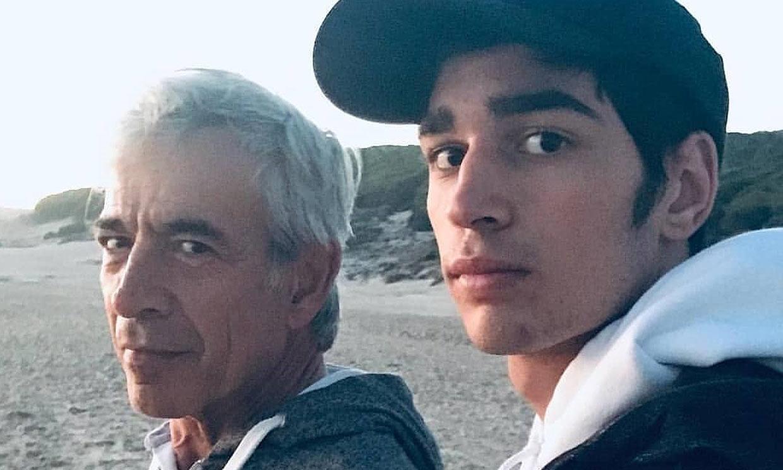 Daniel Arias: 'Siempre dicen que me parezco a mi padre, en 'El Lute' sí que tengo sus rasgos'