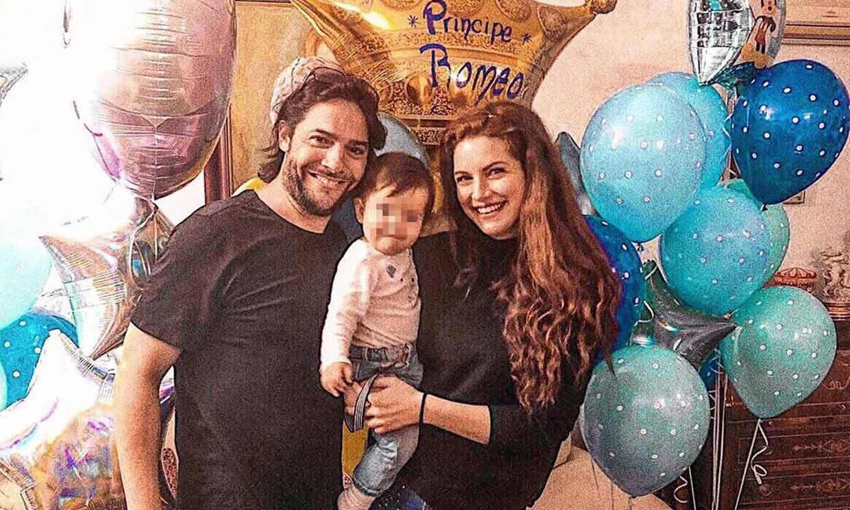 Joaquín Cortés y Mónica Moreno celebran el primer cumpleaños de su 'príncipe'