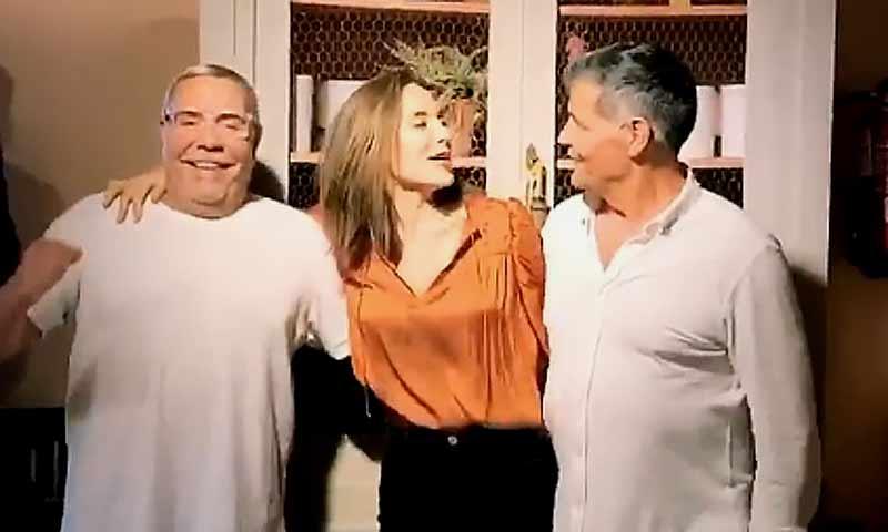 El divertido baile de Tamará Falcó y Los Chunguitos en la fiesta de cumpleaños de Samantha Vallejo-Nájera