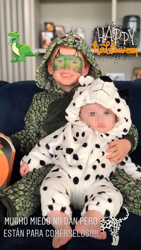 Chiara Ferragni, Helen Lindes... los niños de las 'celebs' se disfrazan en Halloween - Foto 1