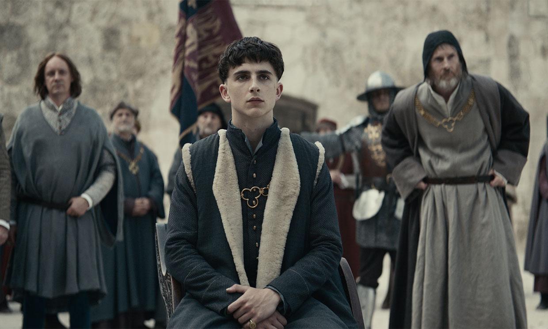 Timothée Chalamet se pone en la piel de Enrique V de Inglaterra