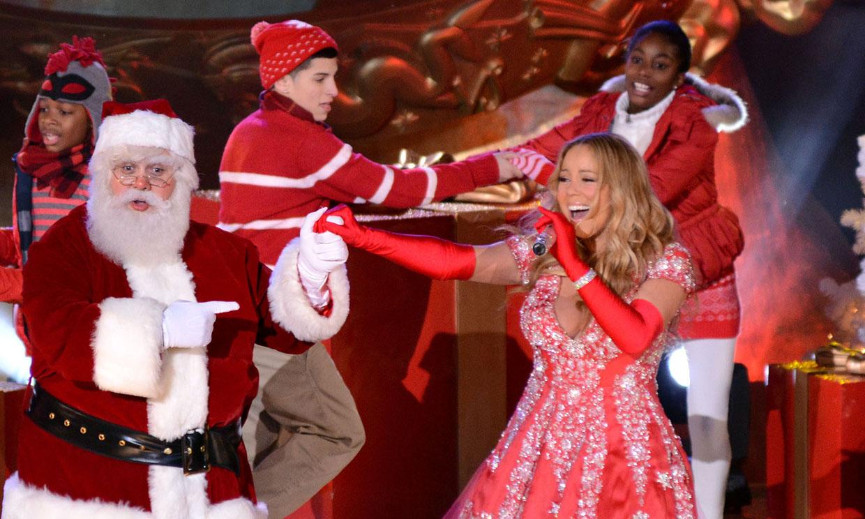 ¡Papá Noel al teléfono! Maríah Carey inicia su campaña de Navidad con este simpático vídeo
