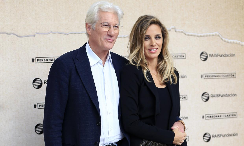Richard y Alejandra Gere estarían esperando su segundo hijo