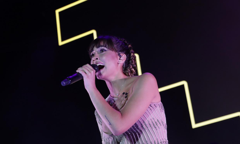 Aitana brilla con luz propia en su primer concierto en solitario en el Palau Sant Jordi