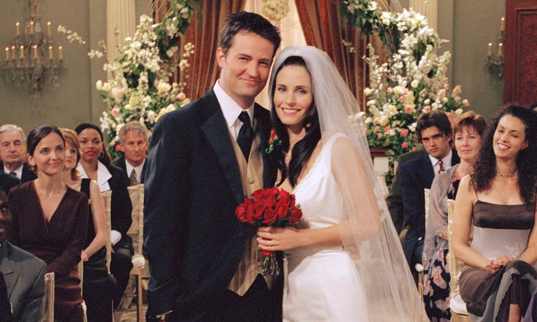 Monica y Chandler, 15 años después: la foto que despierta la nostalgia a los fans de 'Friends'